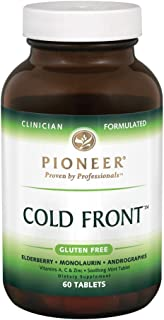 Pioneer Nutrition Cold Front Multivitamins, 60 Count