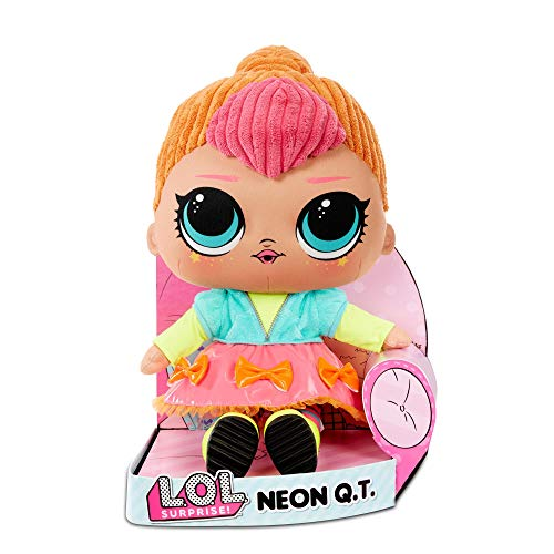 L.O.L. Surprise! Neon Q.T. – Huggable, Soft Plush Doll