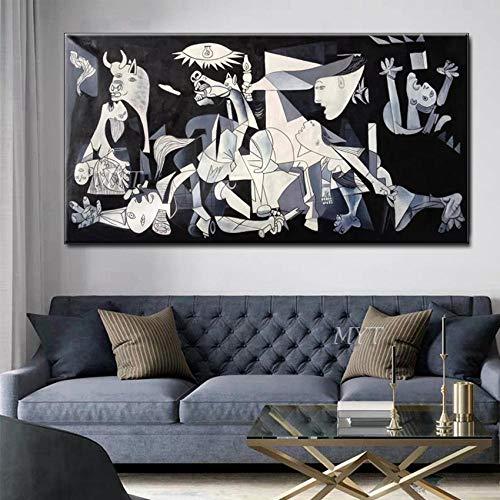 ZNYB Lienzos Pared Decorativos Pinturas Famosas sin Marco Pintura al óleo Hecha a Mano sobre Lienzo Cuadro de Arte de Pared para la decoración del hogar Arte de la habitación