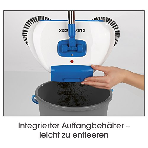 CLEANmaxx Bodenkehrer mit LED-Beleuchtung 4,5V in Blau/Weiß - 5