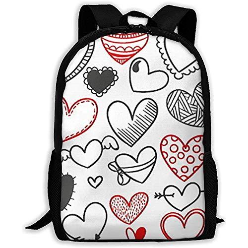 Laptop para Adultos con Mochila Love and Heart Print