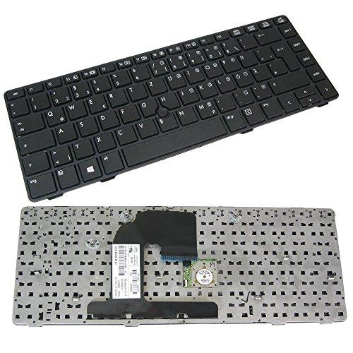 Original QWERTZ Tastatur für HP Elitebook 8460P DE Neu