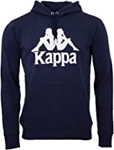 Kappa Heren Taino sweatshirt Authentic | capuchontrui, retro-look hoodie, pullover sweater lang shirt, regular fit, maat ...