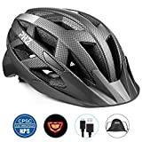 Best Bike Helmet For Adults - PHZ. Adult Bike Helmet CPSC Certified with Rechargeable Review