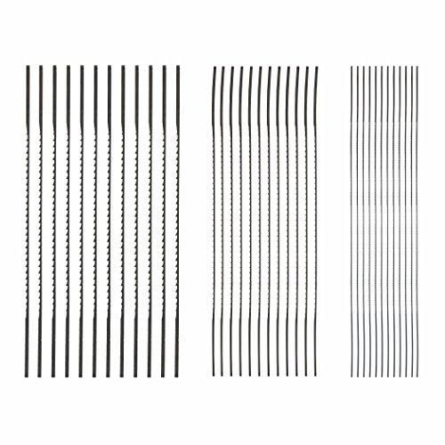 SKIL 80182 Plain End Scroll Saw Blade Set, 36 Piece