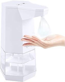 TIMISONL「2020年人気型」消毒用アルコールディスペンサー 非接触式 オートセンサー 0.5秒で液が出る IPX4防水 吐出量2段階調整可能 360ml大容量電池式 病院/学校/家庭/ホテル クリアボトル(日本語説明書付)