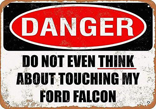 Lorenzo Do Not Touch My Falcon Vintage Metall Eisen Malerei Plaque Poster Warnschild Wohnzimmer Cafe Bar Bier Club Party Weihnachten Hochzeit Dekoration