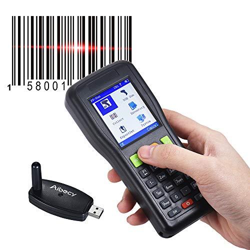 NBLYW Handheld Barcode Scanning Instrument, 328 Voet Transmissie Afstand Draadloze Data Connector met USB Ontvanger voor Winkel, Supermarkt, Magazijn