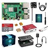 LABISTS Raspberry4 4B-32GB(技適マーク入)MicroSDHCカード32G/NOOBSシステムプリインストール/カードリーダ /5.1V/3A Type-C スイッチ付電源/MicroHDMI-to-HDMIケーブルライン/三つヒートシンク/簡単に取り付けケース/日本語取扱説明書/24ヶ月保証