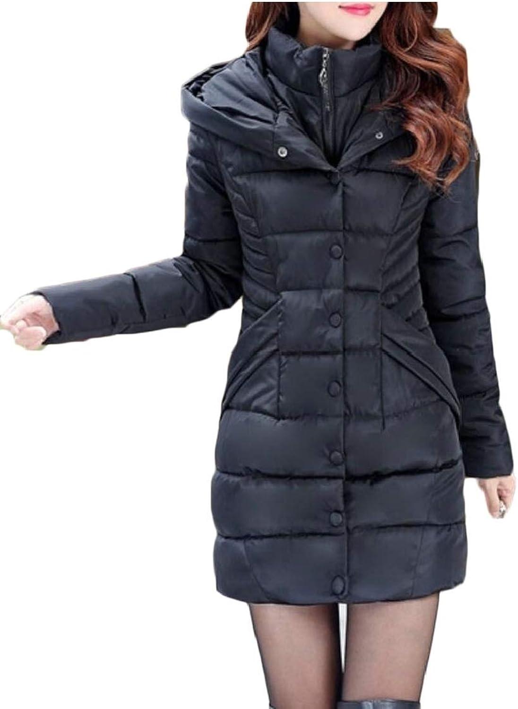 Desolateness Women's Hooded Outwear Coat Lightweight Packable Down Jacket