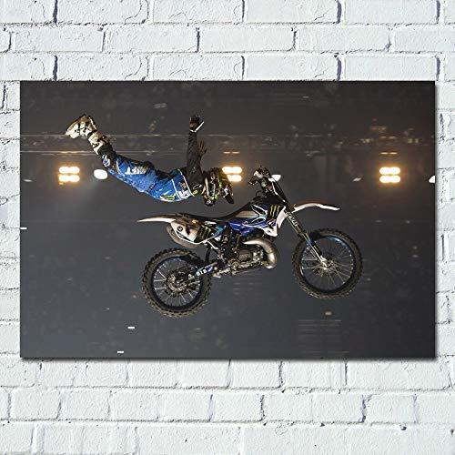 UHvEZ 1000pcs_Adult Puzzle_Motocross_Rompecabezas de Madera Personalizados, imágenes Completas, Juguetes de Bricolaje para decoración de Adultos_50x75cm