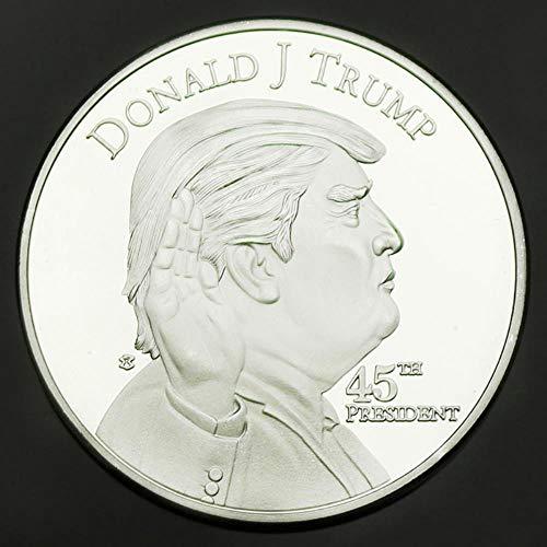 Silbermünze US-Präsident Donald Trump Coin US Das Weiße Haus Liberty Silber Metal Coin Art Collection Geschenk