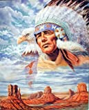 Impact Posters Gallery Native American Indian Chief & Eagle