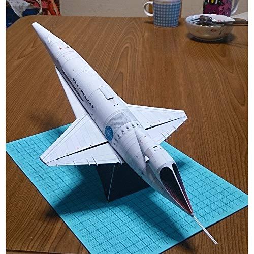 ELVVT Verjaardag Christmas Collection Gifts Orion III Spacecraft Paper Model 3D Puzzles Model Building Toy DIY Handgemaakte Model Toy Children's