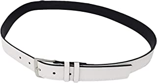 CALVIN KLEIN JEANS WOMENS 32MM IVORY BELT X-LARGE
