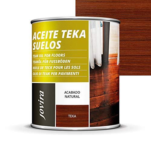 ACEITE TEKA SUELO, terrazas, tarima, muebles jardín, Protección, restauración y cuidado de la madera Teca en intemperie exterior. (2,3 L)