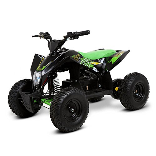 Funbikes T-Max Roughrider 1000w Electric Kids Quad Bike Battery (Green)