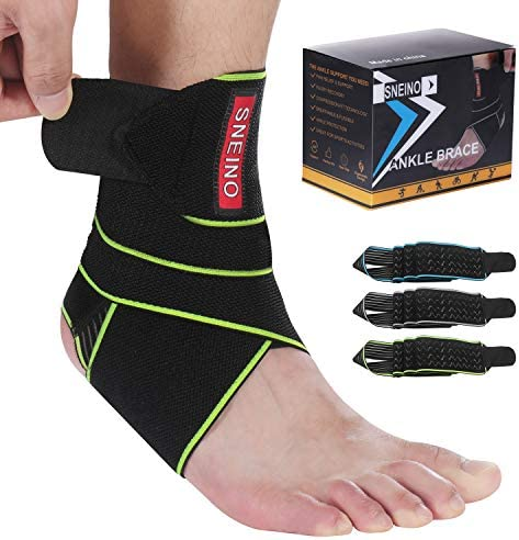 SNEINO Ankle Brace for Women Men Ankle Brace Stabilizer Ankle Brace for Women Sprained Ankle product image