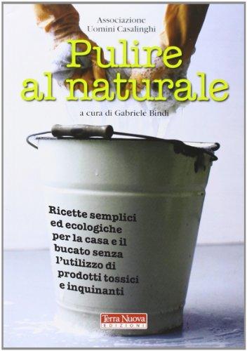 Pulire al naturale. Ricette semplici ed ecologiche per la casa e il bucato senza l'utilizzo di prodotti tossici e inquinanti
