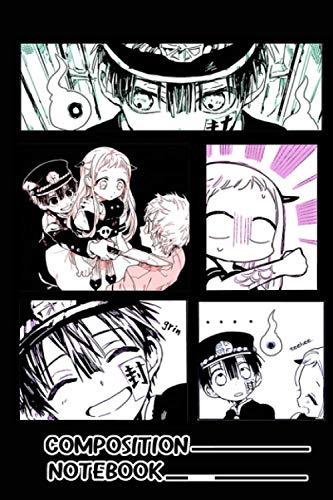 Toilet Bound Hanako Kun Manga Scenes Notebook: (110 Pages, Lined, 6 x 9)