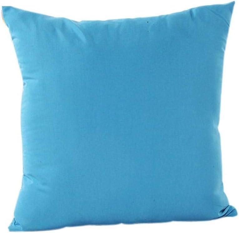 Giow CandyPillow Sofa Home Decoration Housse de Coussin 45cm * 45cm, Amovible et Lavable (Couleur: F) F
