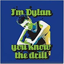 CafePress 90210 Dylan You Know The Drill Tile Coaster, Drink Coaster, Small Trivet