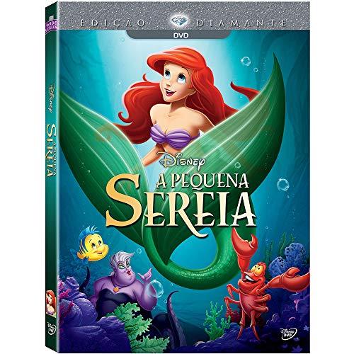 PEQUENA SEREIA ED DIAMANTE DVD