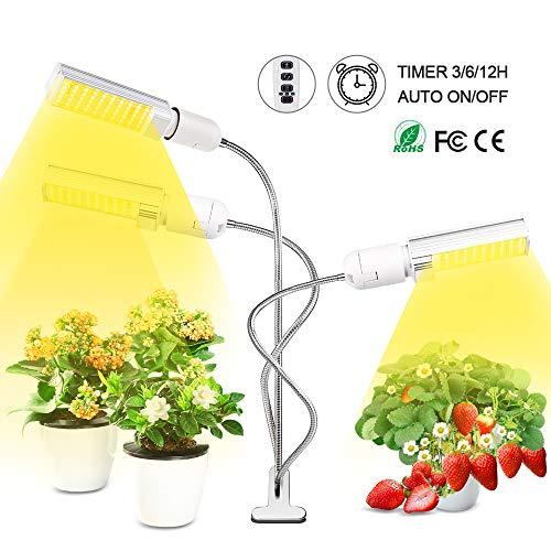 G-TASTE Luces de Cultivo para Plantas de Interior 75W 150 LED de Espec