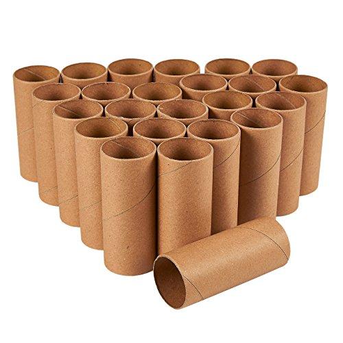 Juvale Bastelrollen (Set, 24 Stück) - Papprollen- Ideal zum Verpacken, Dekorieren, Modellbau - Kreatives Basteln - Karton, Braun, x cm Durchmesser, x cm Hoch - Ausverkauf