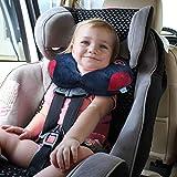 URAQT Reisekissen Kinder, Nackenhörnchen Weiche & Nette Tier-Nackenkissen, Unterstützt den Kopf, Nacken Baby Nackenstützen Schlafkissen Ideal für Auto Flugzeug Zug - 5