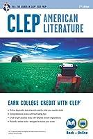 Clep American Literature: Book + Online (Clep Test Preparation)