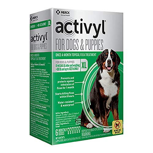 Activyl Extra Large Dogs & Puppies 89-132lbs, 6-pack