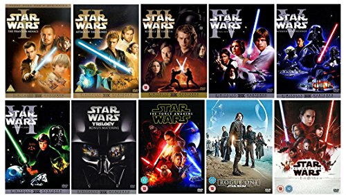 Star Wars 1-9 The Complete Saga & Bonus