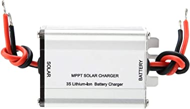 Solar Charge Controller, BQ24650 18V 5A MPPT 3S/4S LiFePO4 Lithium Battery Charging Board Solar Panel Controller Charging Module(4-String Lithium Iron Phosphate Battery)