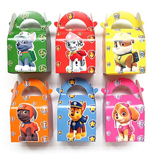 30 Pack Paw Dog Patrol Party Gift Bags - Candy Bags for Kids Birthday Party Supplies