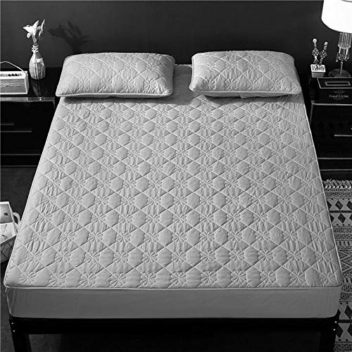 N / A Extra Deep Fitted Sheet,Cotton King-size bed linen, warm non-slip mattress cover for single double bed-G_120cm*200cm+25cm