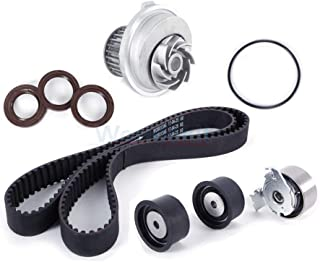 Machine Supplies New Timing Belt Water Pump Kit, Compatible with 99-08 Suzuki Forenza 04-07 Optra 2.0L DOHC