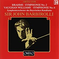 Symphonie No. 2 / Symphonie No. 6 by BRAHMS / WILLIAMS (1992-04-03)
