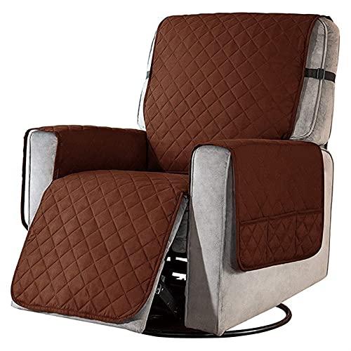 BSZD Cubierta de sofá extraíble, Funda de Silla de sofá reclinable, Cubiertas de sofá reclinable, con Bolsillos Antideslizantes Protector de Muebles (Color : G, Specification : 71.1cm)