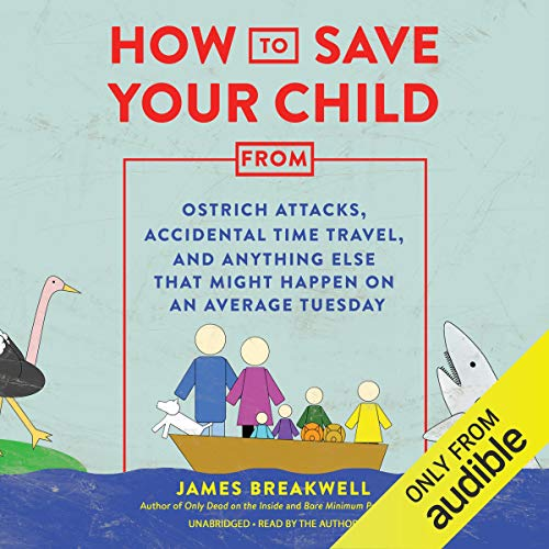 How to Save Your Child from Ostrich Attacks, Accidental Time Travel, and Anything Else That Might Happen on an Average Tuesday audiobook cover art