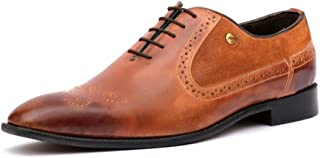 HITZ Tan Leather Shoes for Men