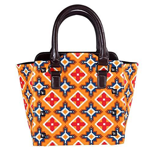 Große PU Leder Hobo Handtasche für Frauen versteckt tragen Nieten Schultertasche Crossbody Geldbörse Boho Nation Parkett
