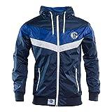 Schalke 04 Windbreaker - Chaqueta cortavientos (talla L)