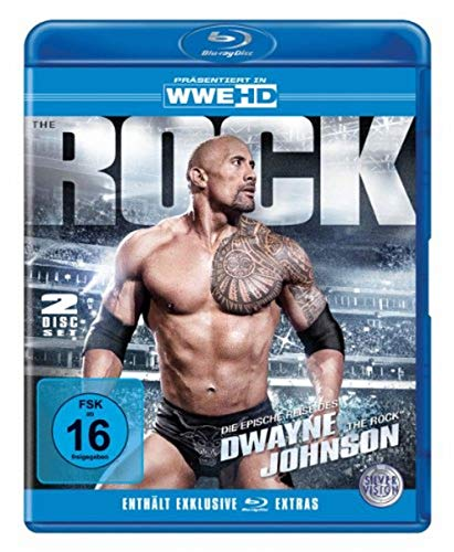WWE - The Epic Journey of Dwayne The Rock Johnson [Blu-ray]