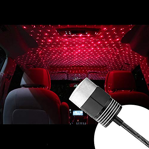 TOMORAL Romantic Auto Roof Sakura Projector Lights, Portable Night Lamp Decorations for Car, Ceiling, Bedroom, Party and More (ROOD)