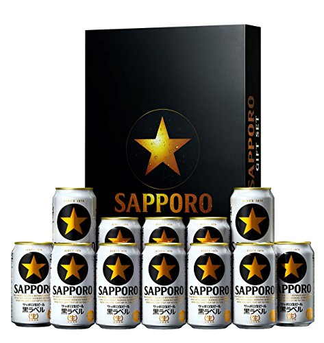 サッポロビール サッポロ 黒ラベル缶ギフトセット KS3D 350ml×10本 500ml×2本 [9725]