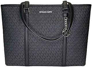Michael Kors Women's Sady Large Tote Bag, Leather - Black