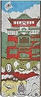 丸眞 フェイスタオル ジブリ 千と千尋の神隠し 約34×80cm 油屋と神々 1005012400