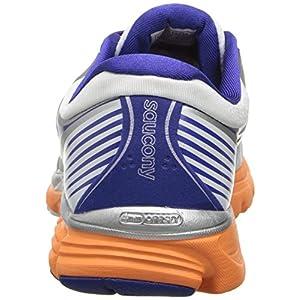 Saucony Women's Kinvara 5 Running Shoe,White/Twilight/Sunset,6.5 M US