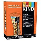 BE-KIND  Snack al gusto di Burro d'Arachidi e Cioccolato Fondente - Barretta Senza Glutine - 12 barrette x40g